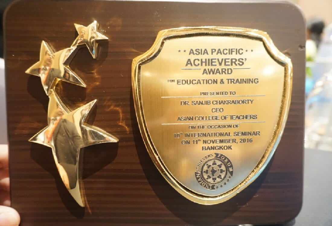 Asia Pacific Achievers Award